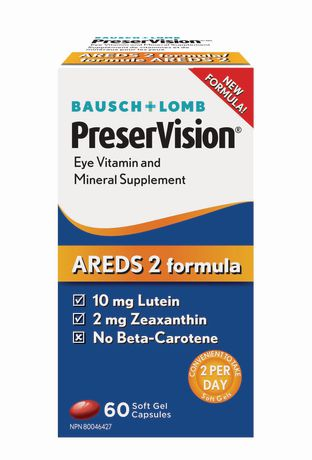 Preservision vitamins ARED2